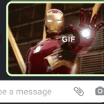 How to Send Animated GIF in WhatsApp Chat