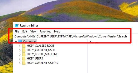 windows search regedit - How to Disable Bing 'Search the Web' on Windows 10 Search 7