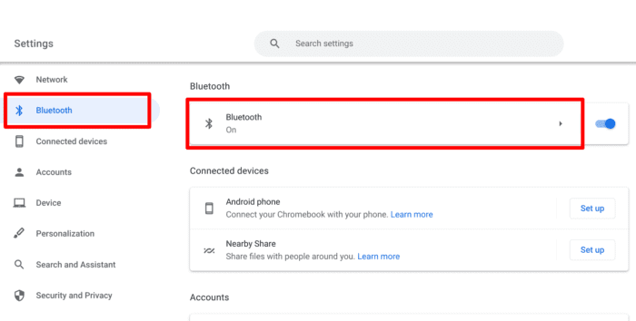 bluetooth settings - How to Connect a Bluetooth Mouse to Your Chromebook 17