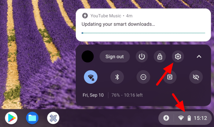 chromebook settings - How to Turn on CAPS LOCK on a Chromebook Tablet/Laptop 5