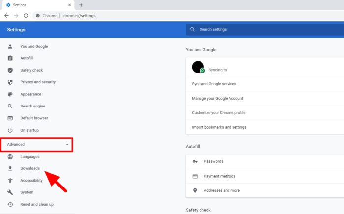 downloads - How to Change Chrome PC Default Download Location 5