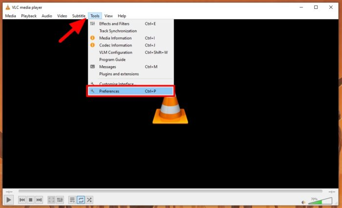 preferences 2 - How to Play Multiple Video Windows with VLC Media Player 7