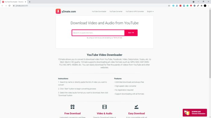 y2mate - 3 Best Free Tools to Download YouTube Video Without Apps 4