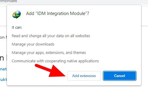 add extension 5 - How to Add IDM Extension to Chrome to Speed Up Download 11