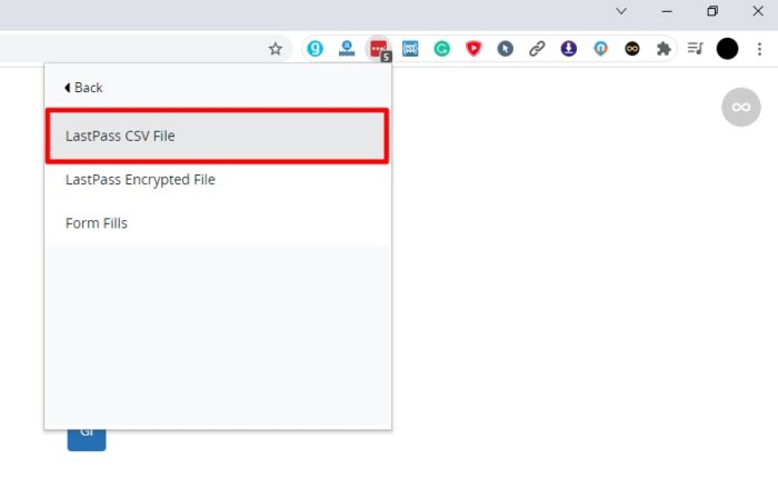 lastpass csv file - How to Export Saved Passwords from Your LastPass Account 13