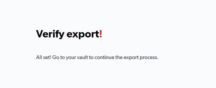 verify export - How to Export Saved Passwords from Your LastPass Account 31