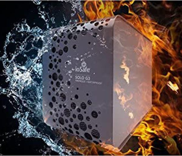 2TB Fireproof and Waterproof HDD