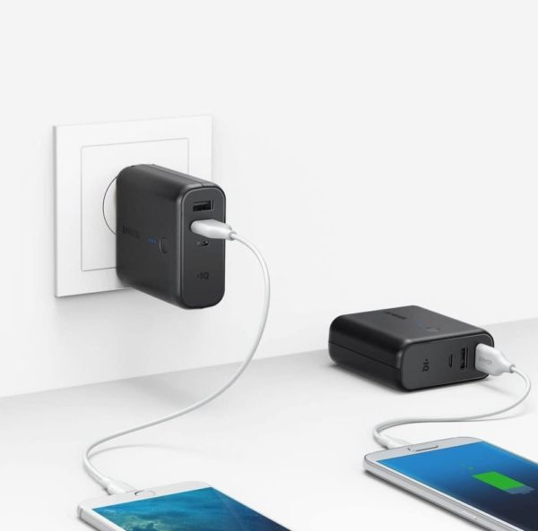 Anker 2 in 1 Power Bank Wall Charger