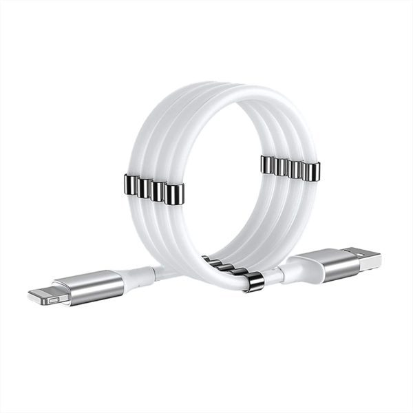Self Winding Magnetic USB Cable