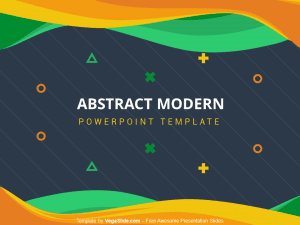 Abstract Modern PowerPoint Template