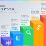 Animated Stairs Process PowerPoint Template