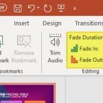 How to Add Fade Audio Effects on PowerPoint