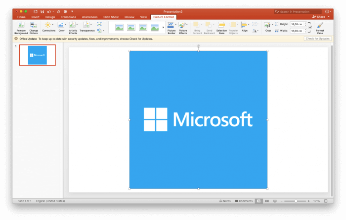 Image transparent in Powerpoint Tutorial