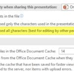 How to Embed All Necessary Fonts in a PowerPoint Document