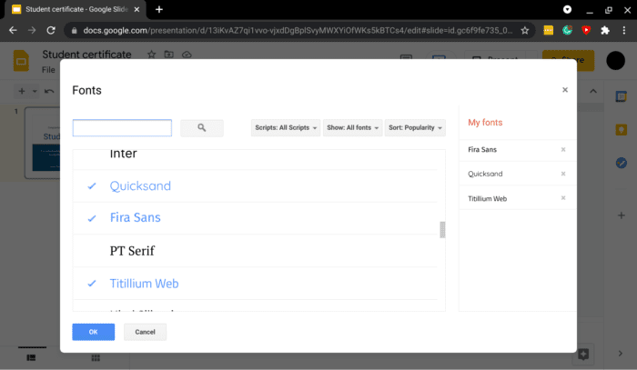 add more fonts powerpoint